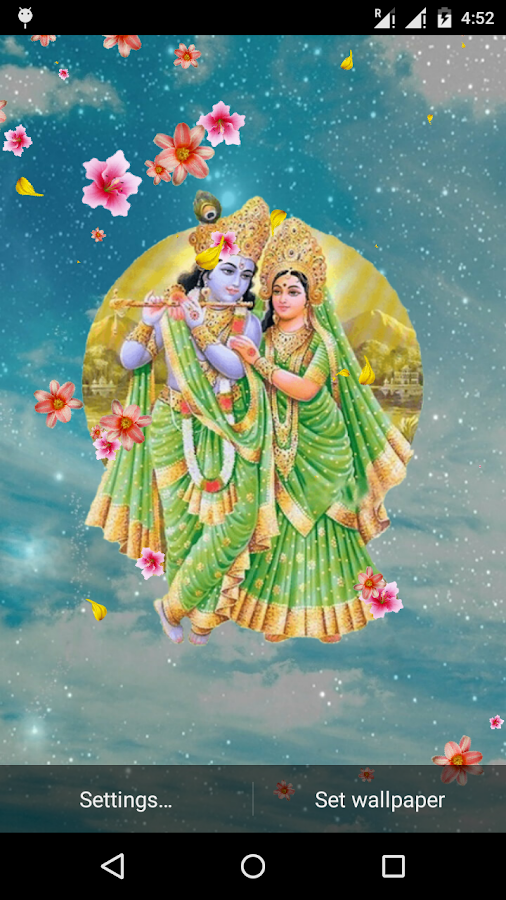 radha krishna live wallpaper app