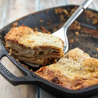Vegetarian Bechamel Lasagna