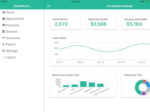 Chirosuite Reports  screenshots 2
