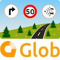 Glob - GPS, Traffic and radar icon