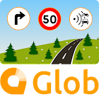 Glob - GPS, Traffic, Radar & Speed Limits icon