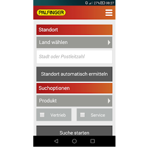 Palfinger Mobile – Miniaturansicht des Screenshots