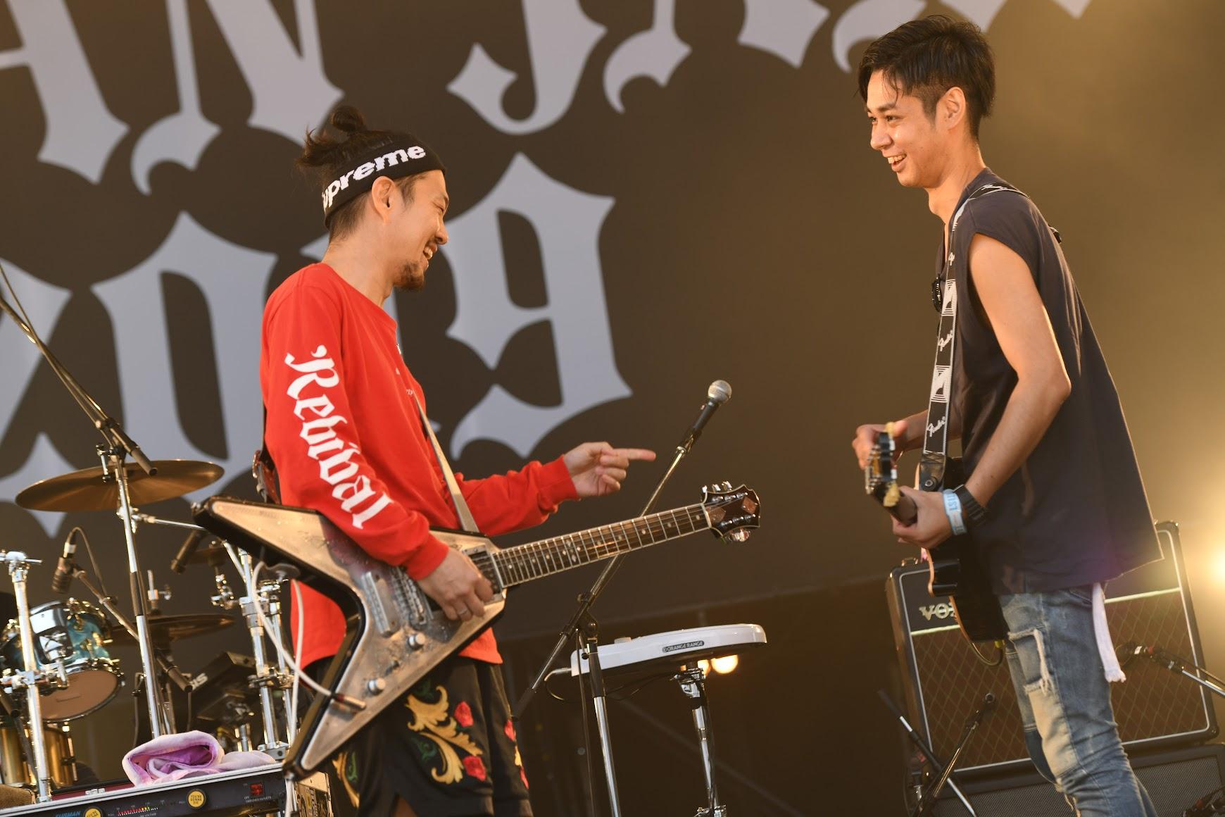 【迷迷現場】 JAPAN JAM 2019  ORANGE RANGE 迎來Kuboty( TOTALFAT )精彩共演