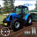 Farming Simulator - Big Tractor Farmer Driving 3D icon