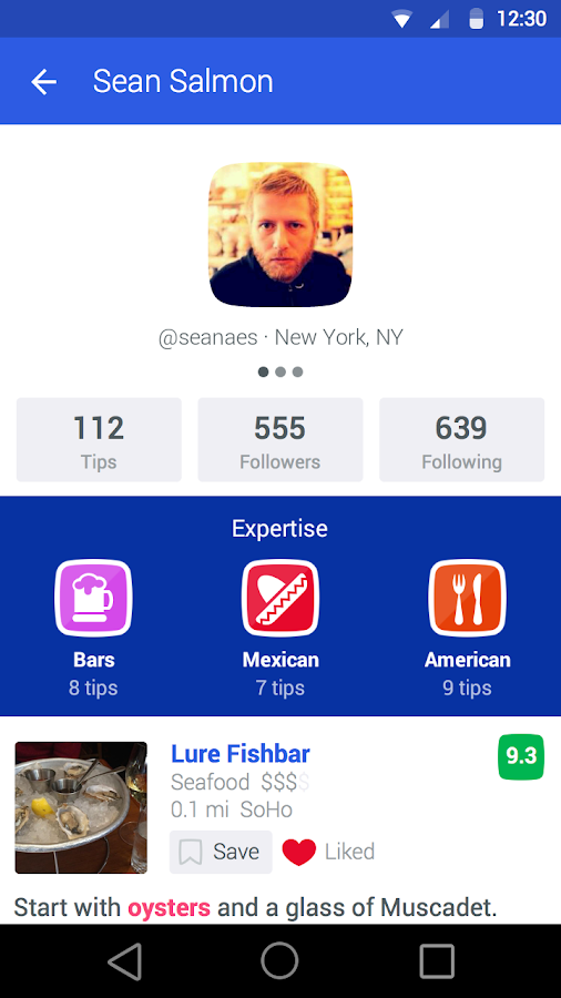 Foursquare - Best City Guide - screenshot