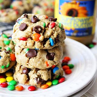 No Nuts Monster Cookies