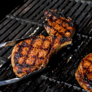 Grilled Smokehouse Maple Pork Chops Recipe