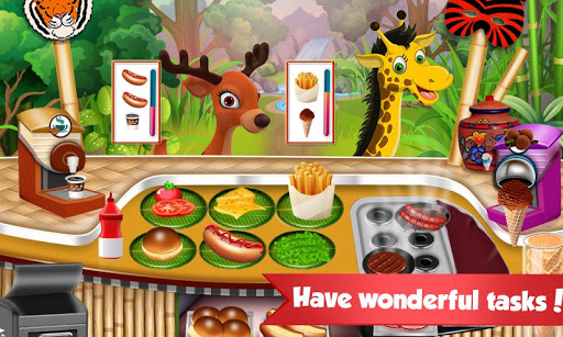 Chef in Jungle - Cooking Restaurant Games screenshots 3