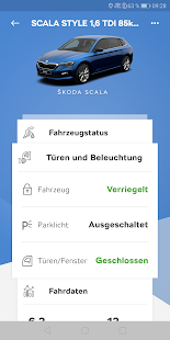 ŠKODA Connect Screenshot