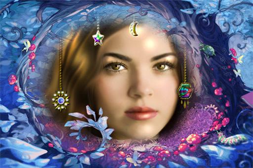 Fantasy Fairy Wonderland Frame