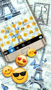 Paris Postcard Keyboard Theme 1.0 Mod Android Updated 3