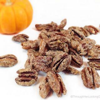 Pumpkin Spice Sugared Pecans