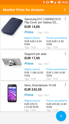 Price Monitor for Amazon 2.3.4 screenshots 1