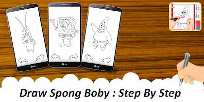 😍 Learn To Draw : Spong Bobby - screenshot thumbnail 05