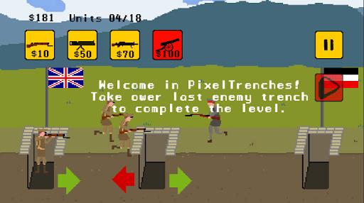 Pixel Trenches: World War 1 1.7 screenshots 1