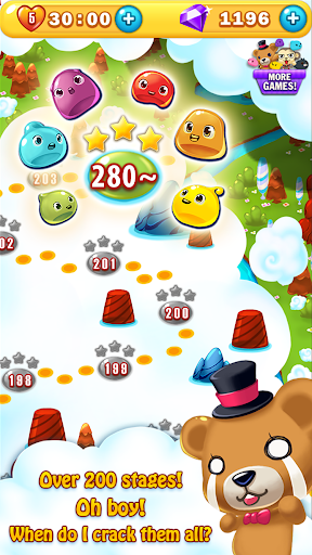 Jelly Jelly Crush - In the sky screenshots 3
