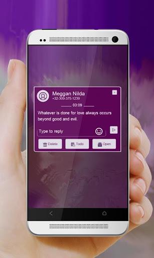 無料个人化Appのチャコールスウィフト GO SMS|記事Game
