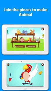 Kids Zoo, animal sounds & pictures, games for kids- screenshot thumbnail
