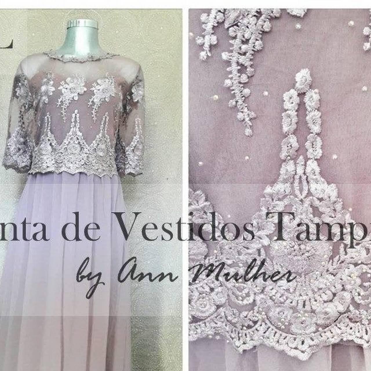 Renta De Vestidos Tampico Ann Mulher A 1 Cuadra De