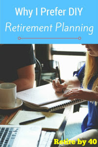 Why I prefer DIY retirement planning