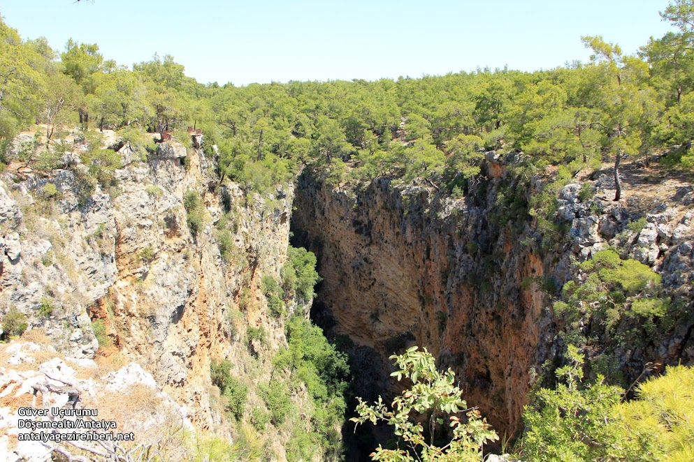 güver uçurumu kanyonu