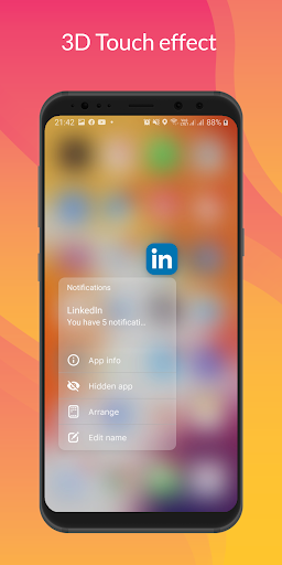 Launcher iOS 14 screenshot 2