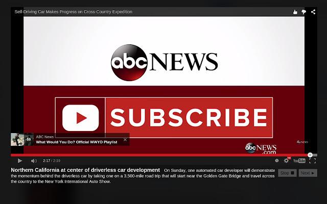 Gnap - Google News Autoplay
