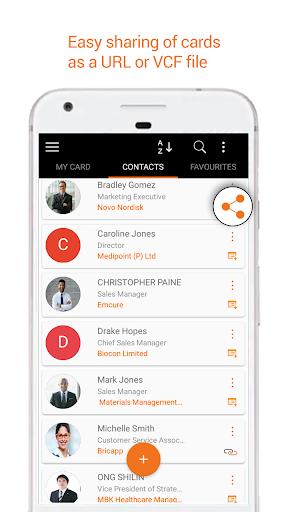 Business Card Reader: Card Scanner & Organizer Pro 1.3.2 screenshots 6