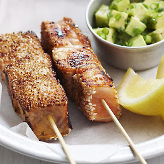 Crispy Sesame Crusted Salmon