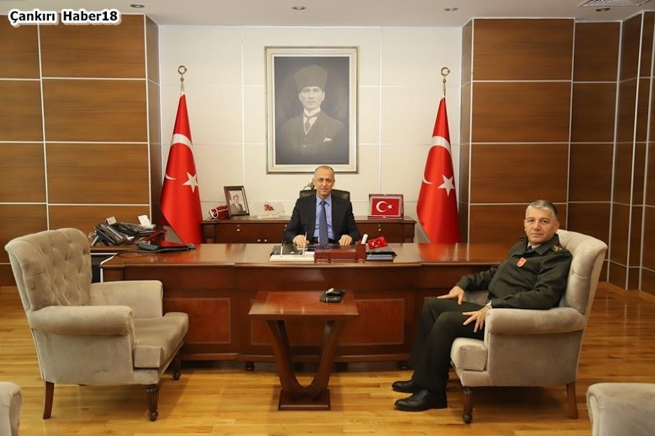 Çankırı Askerlik Şubesi Başkanlığına yeni atanan Personel Albay Ferhan Işık,