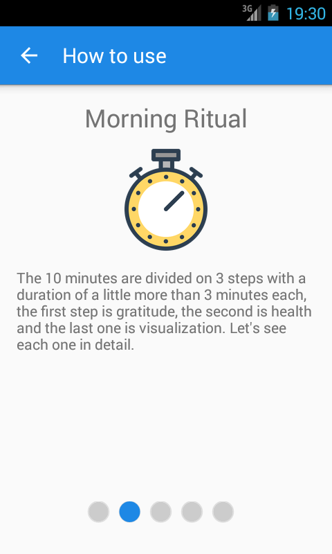 Morning Ritual- screenshot