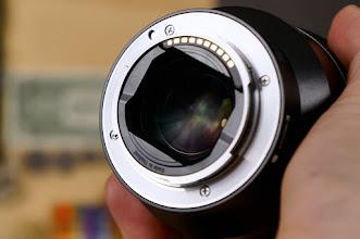 Photo: Sony Distagon T* FE 35mm f/1.4 ZA Lens Mount Side