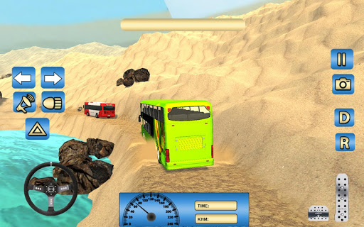 Offroad Desert Bus Simulator apktram screenshots 4