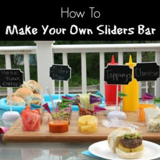 How to Make Your Own Sliders Bar Recipe
