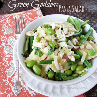 Green Goddess Pasta Salad.