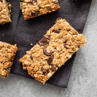 Healthy Chewy Granola Bars (Gluten-Free, Dairy-Free).
