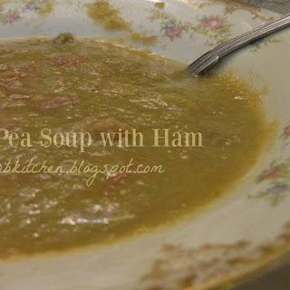 Mock Split Pea Soup With Ham