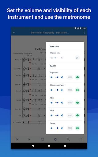 MuseScore: view and play sheet music 2.5.25 screenshots 15