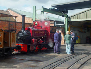 Photo: 007 This rather handsome Hudswell Clarke 0-4-0ST, works number 1056 of 1914 is another loco that spent its working life at a sugar mill, this time at Lautoka in Fiji .