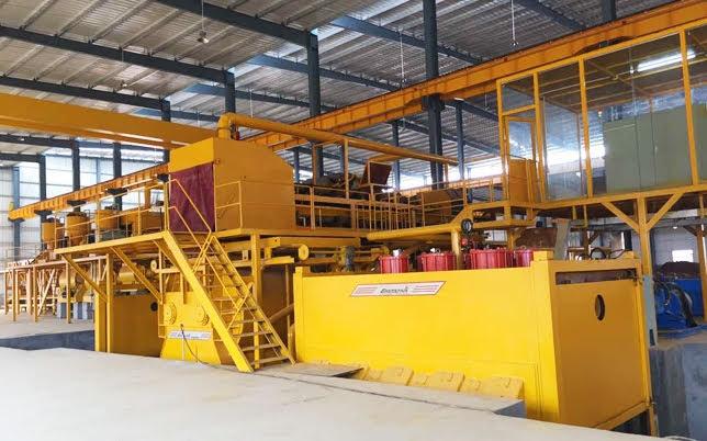 dây chuyền sản xuất đá nhân tạo