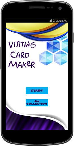 Visiting Card Maker 2017 1.0 screenshots 1