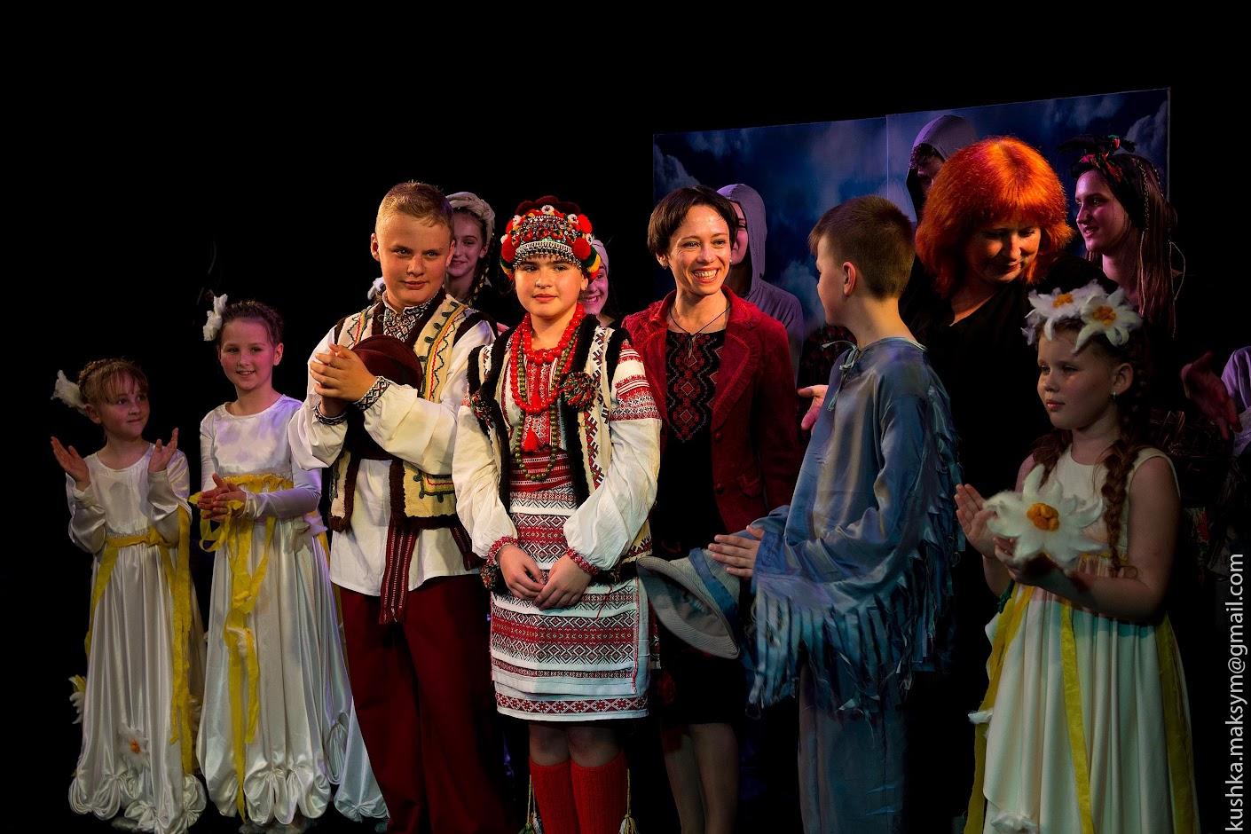 Вихованці театру-студії «Птаха» презентували першу свою виставу
