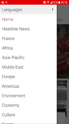 RFI - Radio France Internationale,  live news 3.3.9 Screenshots 3