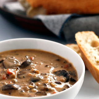 The Ultimate Mushroom and Wild Rice Soup.
