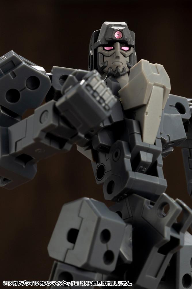 Kotobukiya / 壽屋 / MSG武裝零件 / 頭部部件 B組 MJ15 組裝模型