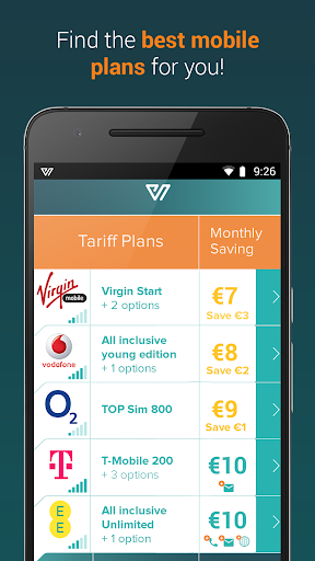 WalletSaver - The Perfect Plan app (apk) free download for Android/PC/Windows screenshot