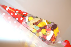 Sachet cône de bonbons en vrac 350gr