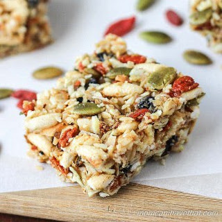 Gluten-free Kitchen Sink Snack Bars.