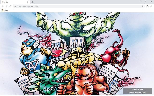 Neo Monsters Full HD New Tab
