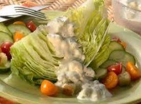 Chunky Bleu Cheese Dressing (easy)
